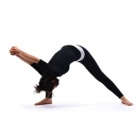 Head to toe pose - Sirsha Angustha Yogasana