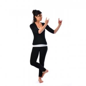 Lord Krishna's pose - Satya Live Yoga