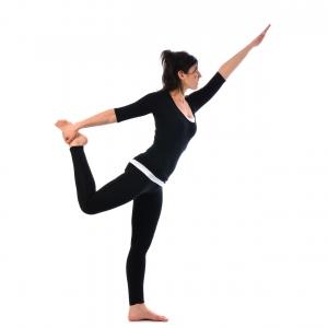 Saral Natarajasana - Satya Live Yoga