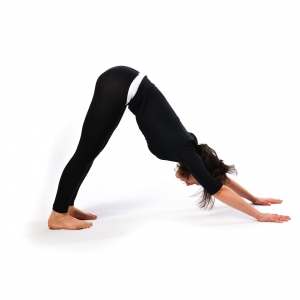 SN Mountain pose - Parvatasana