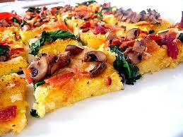 polenta pizza - satya live yoga