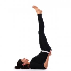 inverted pose  vipareet karani asana  satya live yoga