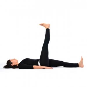 raised leg pose  satya live yoga  southern tablelands