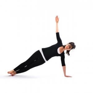 Side plank - Satya Live Yoga